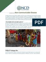 ASEAN Non Communicable Disease