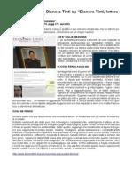 """13 Giugno 2015 - Dianora Tinti su """"Dianora Tinti, Letteratura e... dintorni"""" recensisce """"Amata tela"""" il romanzo di Giulia Madonna"""