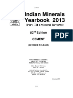 Mineral India Cement 2013