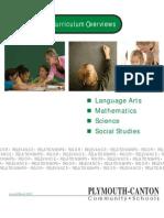 Kindergarten Curriculum Overview 091510