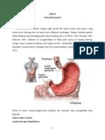 Analisis BAB II Definisi Gastritis