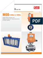 Electric Actautor Valve Damper technical catalog pdf