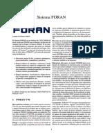 Sistema FORAN
