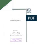 Manual de Organización de las Subdelegaciones del IMSS