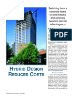 Hybrid Design Reduces Costs(2)