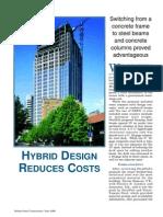 Hybrid Design Reduces Costs(2)