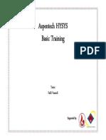 KMI Hysys Training