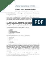 Intercultural Leadership in India 2