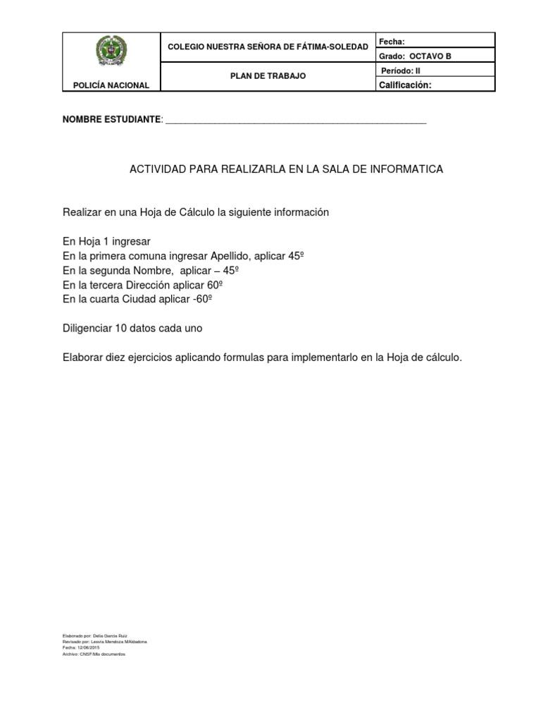 Excelente Hojas De Trabajo Para Octavo Grado Festooning - hojas de ...
