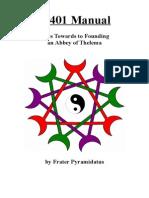 A 401 Manual, by Frater Pyramidatus