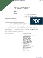 UNITED STATES OF AMERICA et al v. MICROSOFT CORPORATION - Document No. 716