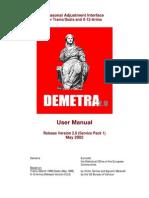 Demetra203 User Manual