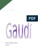 Trabajo de Gaudí