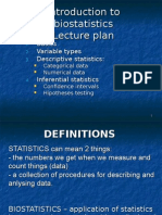 Basic Epidemiologic And Biostatistical Terminology For Nanos 2004