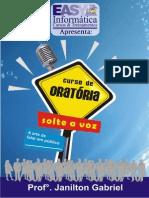 Curso de Oratória - Recursos Audiovisuais