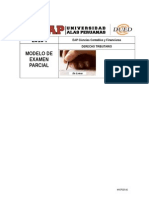 Modelo de Examen Parcial Derecho Tributario 2015-1