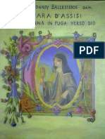 Chiara d'Assisi. Una Donna in Fuga Verso Dios.