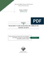 Trazado y Excavación de Obras de Edificación