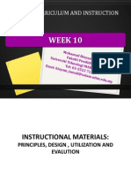 week10 instructional materials