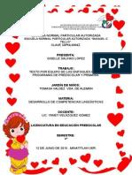 Texto preescolar y primaria (enfoques por competencias)