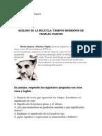 Actividad Chaplin Tiempos Modernos
