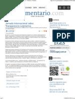 11-06-15 Jornada Internacional sobre Transparencia Legislativa - Noticias - Parlamentario.pdf
