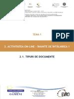 T1_2.1. Tipuri de Documente