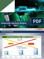 Sistemas Inyección Gasolina Bosch 2013