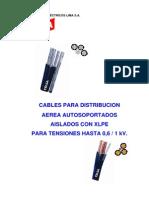 Cable Celsa Autoportantes