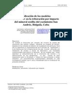 Modelo de Nikolov Chancadoras de Impactos (Español)