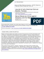 Abuso sexual y derecho a la intimidad