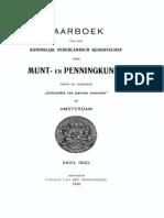 Geschiedkundige aantekeningen betreffende den muntslag voor Nederlandsch West-Indië / door J.W.A. van Hengel