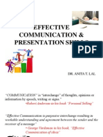 Effective Communication&PresentationSkillsBCA2014
