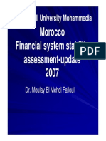Moroccan Financial System Assessment by Falloul Mehdi