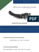 Principio Di Induzione - Analisi Dei Testi - Giovannini