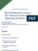 Deloitte - CFO's Role in Supporting BOD
