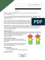 TCM Diabetes Seminar Notes