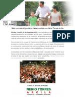 22-05-2015 Más Vecinos Del Poniente Hacen Equipo Con Nerio Torres Arcila