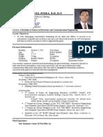 My Resume 05112015