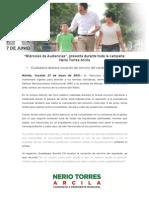 27-05-2015 'Miércoles de Audiencias', Presente Durante Toda La Campaña- Nerio Torres Arcila