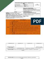 PET-OrC-PA-01.01 Operacion de Mezcladora de Concreto en Mina V01