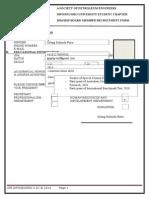 Recruitment Form (1)