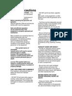 PS0500 Manual