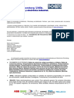 Carta Presentacion Rhomberg