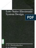 Low-noise Electronic Design