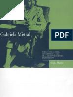 Gabriela Mistral. Poesía y justicia social.