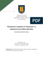 Participación ciudadana en Talcahuano