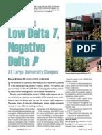 Low Delta T & Negative Delta P