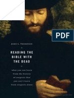 Reading the Bible With the Dead