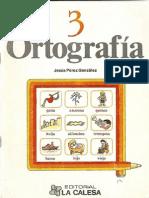 Cuadernillo de Ortografia
